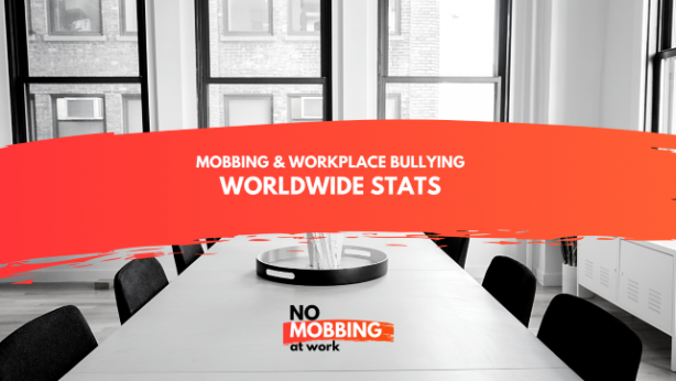 Worldwide Stats about mobbing & bulling at work